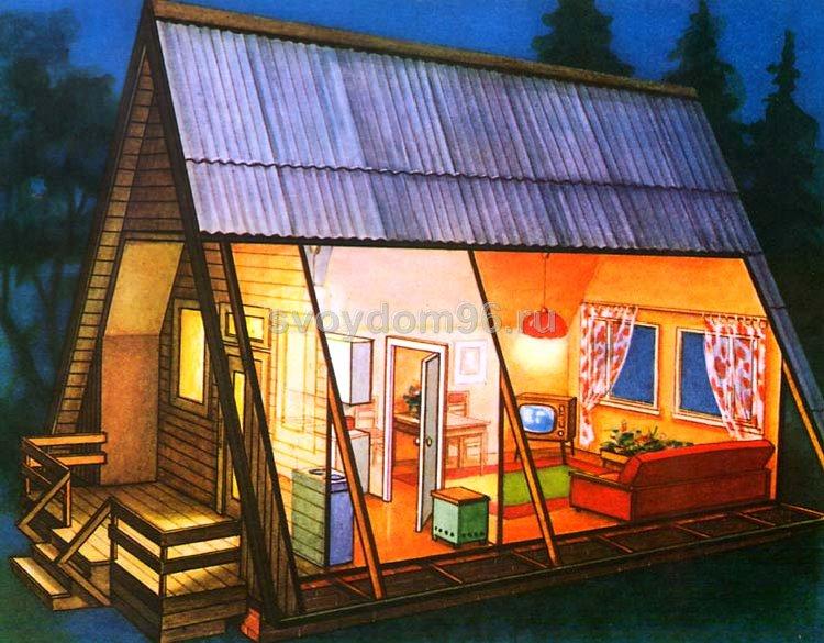 строительство садовых домиков фото